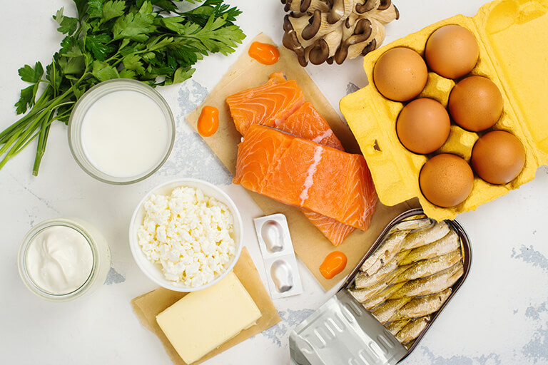 Mat rik på Vitamin D.