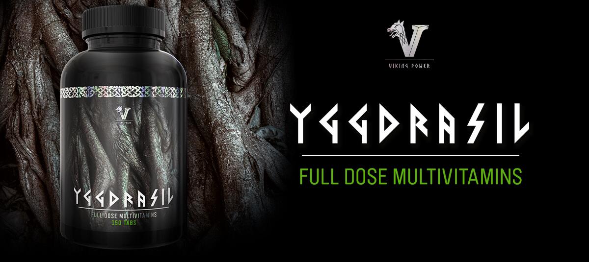 Till Viking Power Yggdrasil Fulldoserad Multivitamin